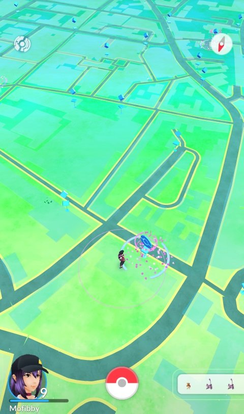 A look at Lancaster via the Pokemon Go
