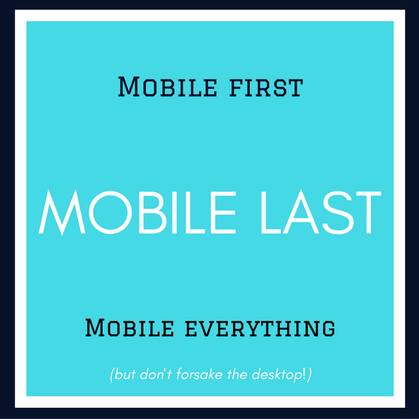 Mobile and Accelerated Mobile Pages (AMP) mean so much to your SEO planning. Do leave room for desktop, though