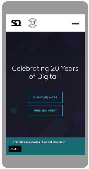 sq digital mobile friendly website