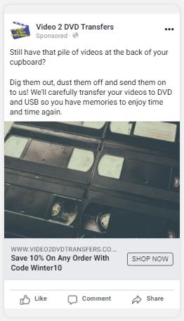 video 2 dvd post